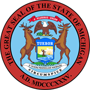 Michigan Secretary of State Corporations Division Seal